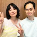 40代女性浜田さんと院長仲井
