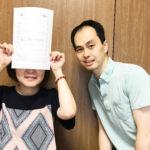 40代女性Yukikoさんと院長仲井