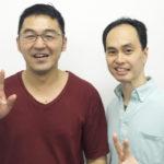 癒々整体院の院長多田羅浩平先生と仲井院長
